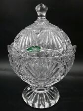 Shannon Crystal Freedom Covered Candy Bowl Dish by Godinger