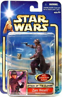 Star Wars Zam Wesell Action Figure Attack Of The Clones