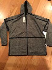 Adidas Z.N.E Reversible Hoodie (Cg0248) Sweat Shirt Hooded Jacket Top Size Xl