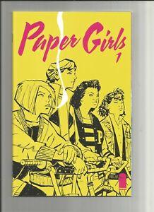 Paper Girls Comic Book #1, Image 2015, 1st Print, Amazon Prime Series