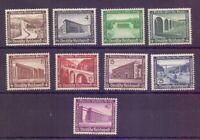 Dt. Reich 1936 - WHW Bauten - MiNr. 634/642 postfrisch** - Michel 80,00 € (980)