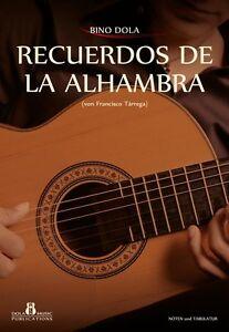Spanische Klassische Gitarre, Notenhefte von Bino Dola