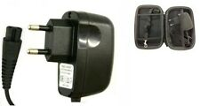 2 Pin UK Ladegerät Power Lead für Philips Rasierer HQ7830 + Free Case
