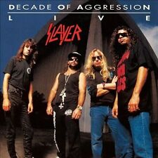 Decade of Aggression: Live by Slayer (Vinyl, Oct-2013, 2 Discs, American)
