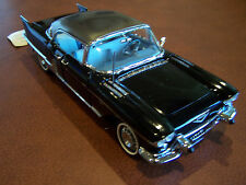 Franklin Mint 1957 Black Cadillac Eldorado Brougham Mint In The Box