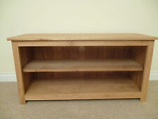 Oak 1300mm TV Unit Stand Cabinet Games or HIFI Unit Ideal in The Living Room
