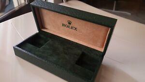 Scatola Rolex vintage Verde
