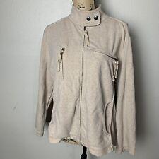 Apostrophe soft moto jacket beige With 4 pockets xxl