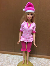 Barbie A Perfect Christmas Sisters Night PJ Pajama Sleepwear Dressed Doll