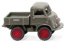 Wiking 036801 - Unimog U 401 moosgrau_NEU/OVP (1:87)_NEU/OVP