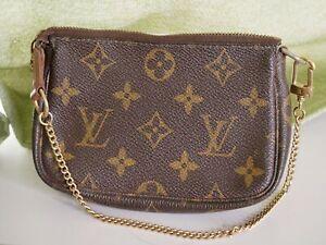 LOUIS VUITTON Monogram Multi Pochette Accessoires Pouch M58009 Brown #3934P