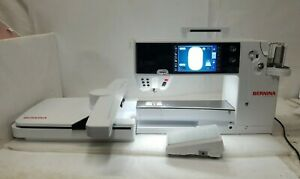 Bernina B880 Plus Sewing Quilting Embroidery Machine W/ Pedal, Arm, Accessories