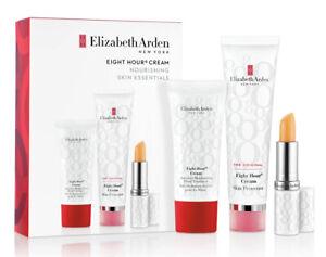 ELIZABETH ARDEN Eight Hour Cream Skin Protectant 8 Hour Cream 1.7 +Hand+Lip NEW