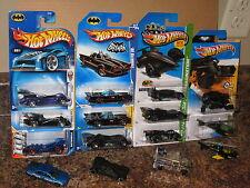 Hot Wheels Huge Lot of 15 Batman Batmobile Variation 1966 The Bat Live 2004 2010