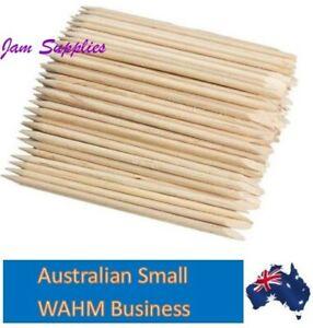 Wooden Cuticle Pushers - Orange Sticks 7cm & 10cm available lots 20 50 100