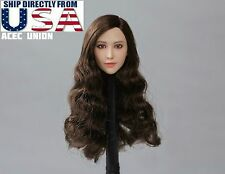 1/6 X-MEN Blink Female Head Sculpt Fan BingBing For Hot Toys Phicen In stock