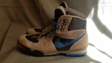 2fefac240f59ce Men s Vtg Multi-Color Leather 1991 Nike Hiking Trail Boots Made in Korea Sz-