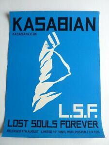 KASABIAN  L S F ORIGINAL  PROMOTIONAL POSTER NEW UNUSED