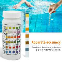 50PCS Chlorine Dip Test Strips Hot Tub SPA Swimming Pool PH Tester Paper US !!!