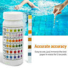 50PCS Chlorine Dip Test Strips Hot Tub SPA Swimming Pool PH Tester Paper US !!!