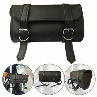 4Fit™ Motorcycle Front Forks Vintage Style Waterproof PU Leather Tool Bag