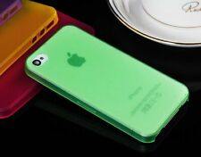 Fashion 0.3mm Ultra Thin Slim Crystal Clear PP Soft Cover Case for iPhone 4 4S