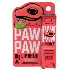 10 g. NATURE' S CARE PAW PAW Lip Balm All Natural For Dry & Chapped Lips