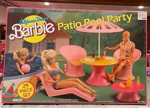 1980's California Dream Barbie Patio Pool Party
