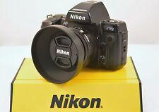 Nikon N8008s 35mm SLR Camera/MF-21 Multi-Control Back w/ AF Nikkor 50mm f1.8