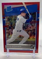 Nico Hoerner 2020 Donruss RED HOLO RATED ROOKIE RC #38 Cubs MINT+