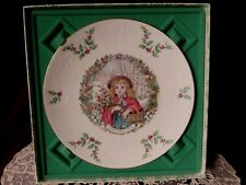 Royal Doulton Porcelain<A Joyful Christmas Treasure>decorator Plate 1978 Box