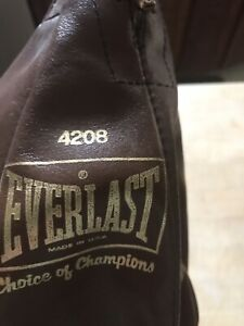 Excellent Everlast Brown Leather Punching Bag 4208 USA