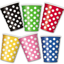 Polka Dot Party Tableware Supplies Table Decorations Birthday Paper Partyware