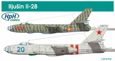 HPH Model 1:48 Ilyusin Il-28 Aircraft - Multimedia Model Kit #48019R