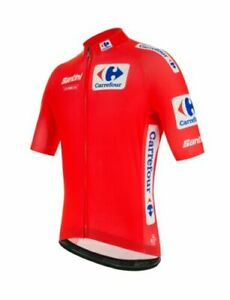 2020 La Vuelta Espana Leader's Cycling Jersey by Santini - Made in Italy