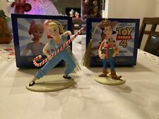 Early Moments/Grolier Disney Ornaments Bo Peep And Woody Toy Story 4