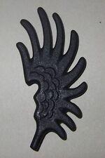 16314, 1x Hut-, Helm- Feder, Schwinge, Flügel, schwarz