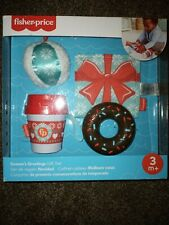 Fisher Price Infant/Baby Toy Gift Set* Teether, Cup Rattle,Soft Gift & Soft Ball