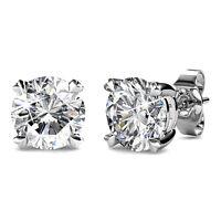 Crystal Earrings created with Swarovski® Crystals 18KGP Krystal Couture KCE800WG