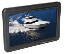"""Rugged Cams 10"""" HD Wall Mount Color Monitor VGA/RCA/HDMI Inputs 1080p or 720p"""