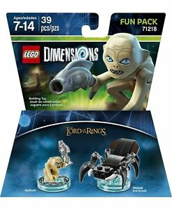 LEGO Dimensions Lord of the Rings Gollum Shelob Fun Pack 71218 - Sealed - New