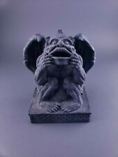 Gargoyle Statue Resin 7 inch open mouth bank? Gothic horror protection