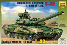 Zvezda Model 5020 Russian Main Battle Tank T-90 Scale 1/72