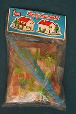vintage toys plastic house model kit made in hong kong 60's 70's penguin