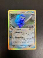 Vaporeon - Pokemon Card - EX Delta Species 18/113 - Ultra Rare Holo STAMP - LP