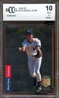 1993 SP #279 Derek Jeter Rookie Card BGS BCCG 10 Mint+
