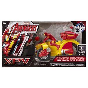 Brand New 27 MHZ XPV Iron Man Arc Cycle By Jakks