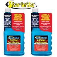 2-Pack Star Brite Star Tron Enzyme Fuel Treatment Concentrated Gas Formula 32oz