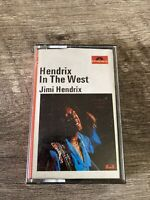 JIMI HENDRIX  Hendrix in The West   -  Cassette Tape - Polydor  1971  3100 -154