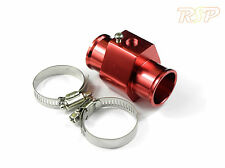36mm Radiator Coolant Hose Adapter For Water Temp Gauge Sensor Evo 3 4 5 6 7 8 9